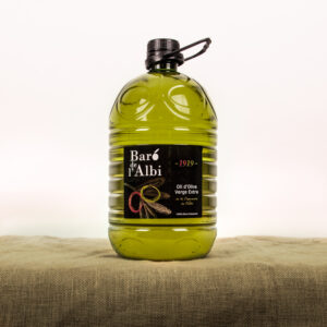Oli d'oliva verge extra. Cooperativa Agrícola de l'Albi. Garrafa 5 L