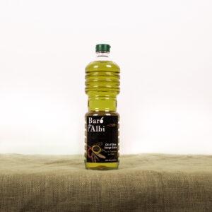 Oli d'oliva verge extra. Cooperativa Agrícola de l'Albi. Ampolla 1L oli