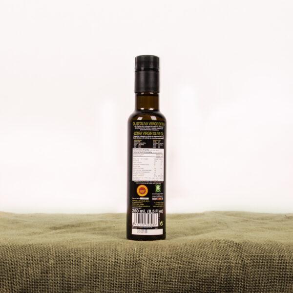 Oli d'oliva verge extra. Cooperativa Agrícola de l'Albi. Ampolla d'oli 250 ml