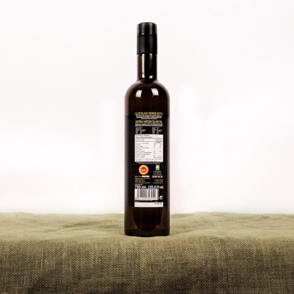 Oli d'oliva verge extra. Cooperativa Agrícola de l'Albi. Etiqueta 750 ml oli