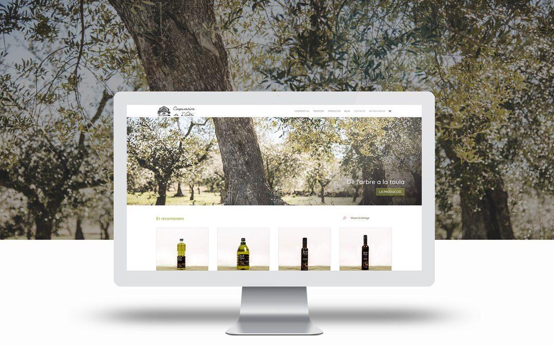 La Cooperativa Agrícola de l'Albi estrena nova web amb botiga online