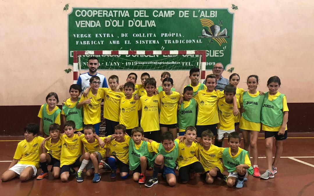La Cooperativa de l'Albi patrocina el segon Torneig de futbol Sala a l'Albi