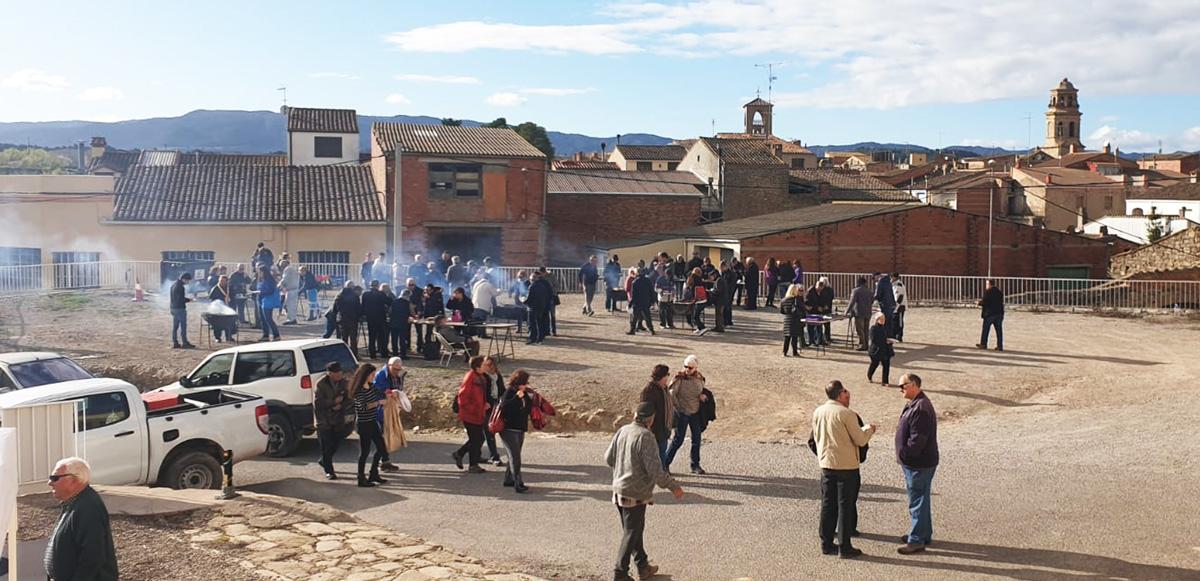 Èxit de participació i vendes a la Festa de l'oli de l'Albi d'enguany
