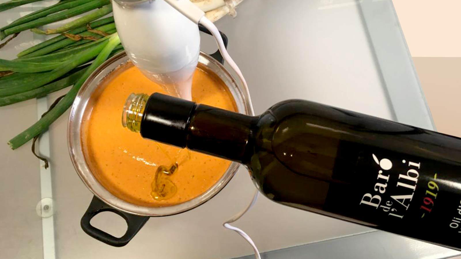 Salsa de calçots amb oli d'oliva verge extra Baró de l'Albi